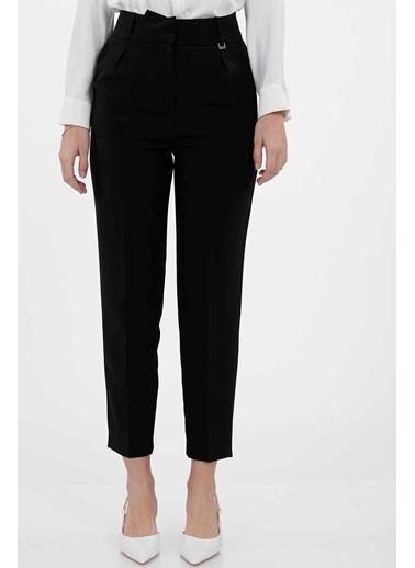Vitrin Yüksek Bel Havuç Pantolon Siyah